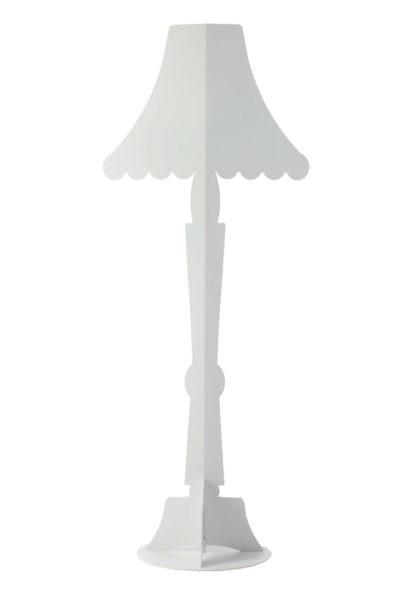 Lampada da terra Āhua Classic Bianca