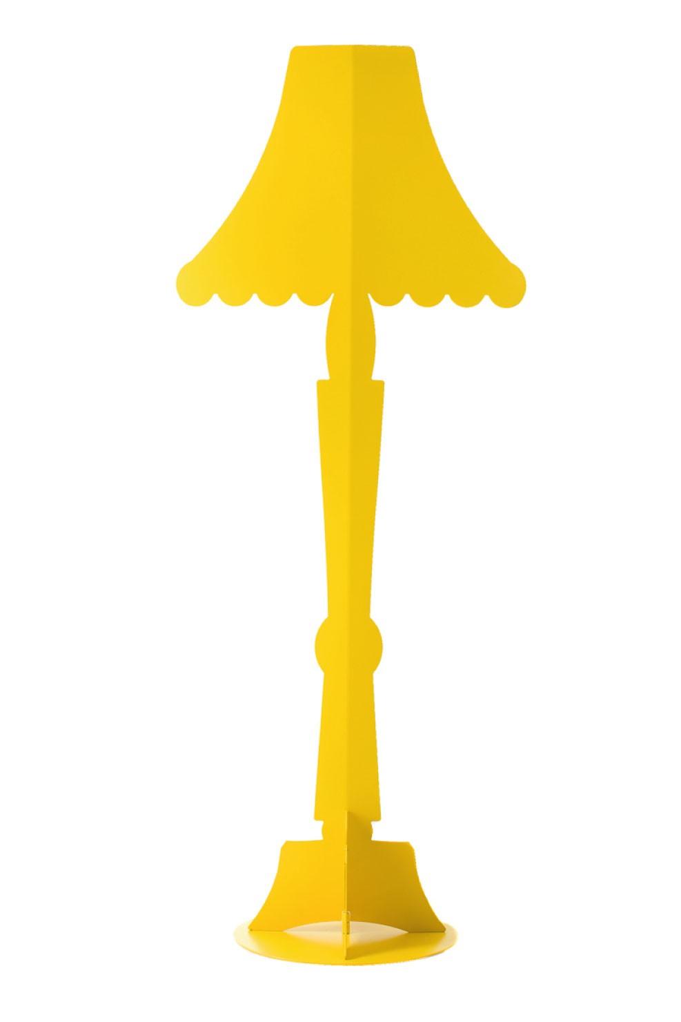 HomeShopFloor Lamp Āhua Classic Yellow. Lampada Da Terra Gialla Avanti