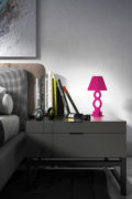 Table lamp Āhua Infinity Fuchsia
