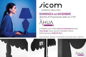 Sicom-Lampade Āhua Design