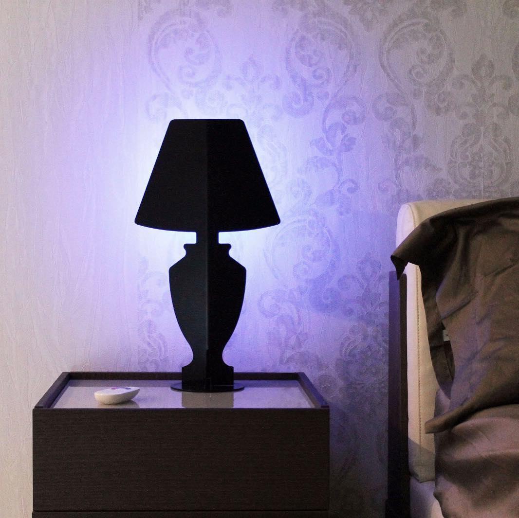 Āhua Mini Classic- Lampade a led nera