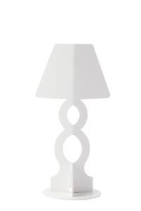 lampada ahua design -lampada da tavolo bianca