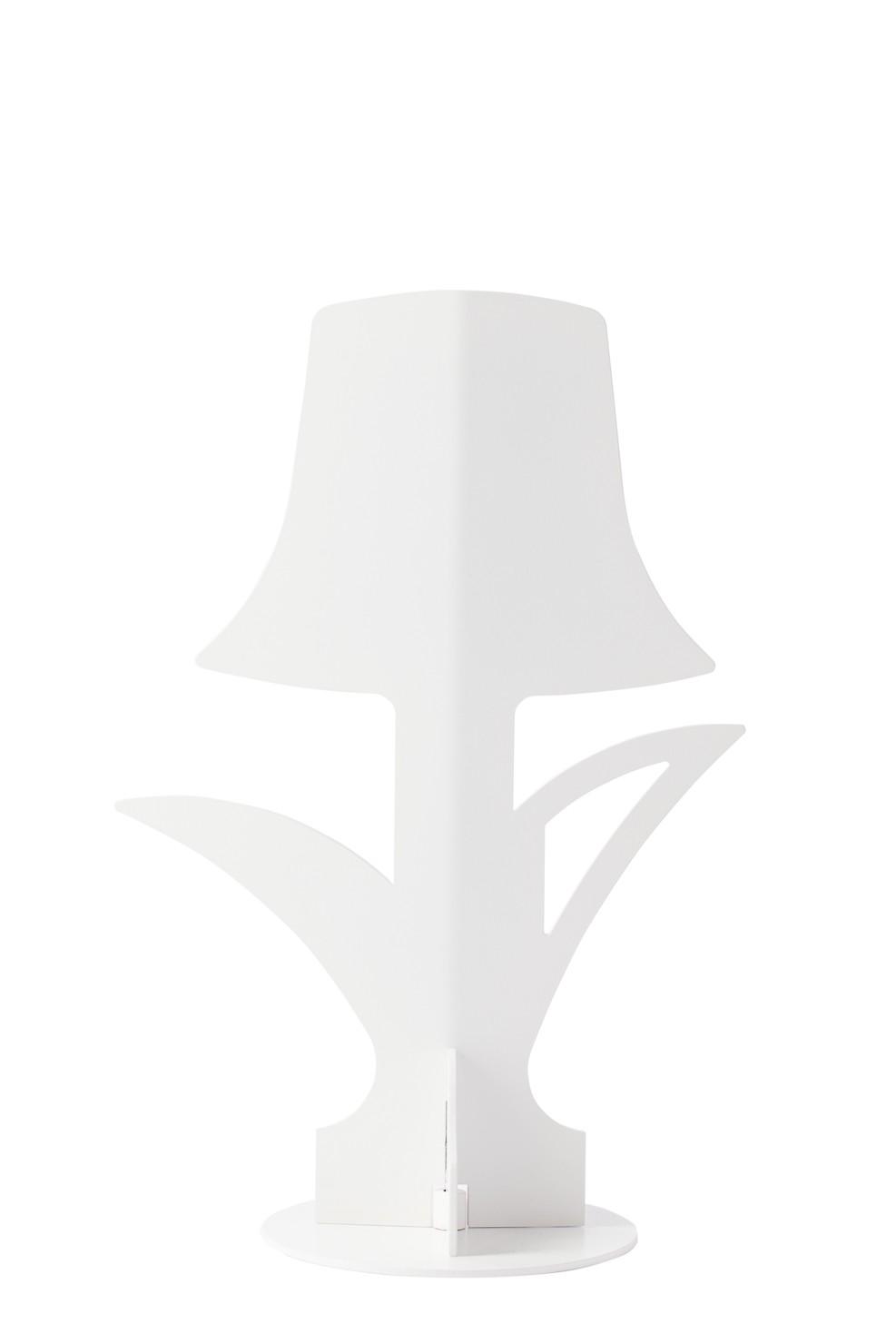Lampada Lampada da tavolo \u0100hua Bloom Bianca - Lampada a Led da Tavolo Bianca