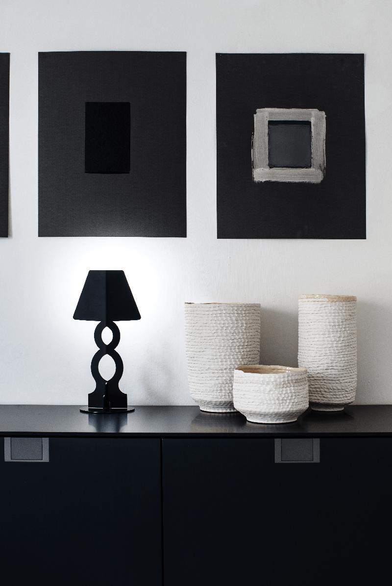 Design Lampade Da Tavolo lampada da tavolo Āhua infinity bianca