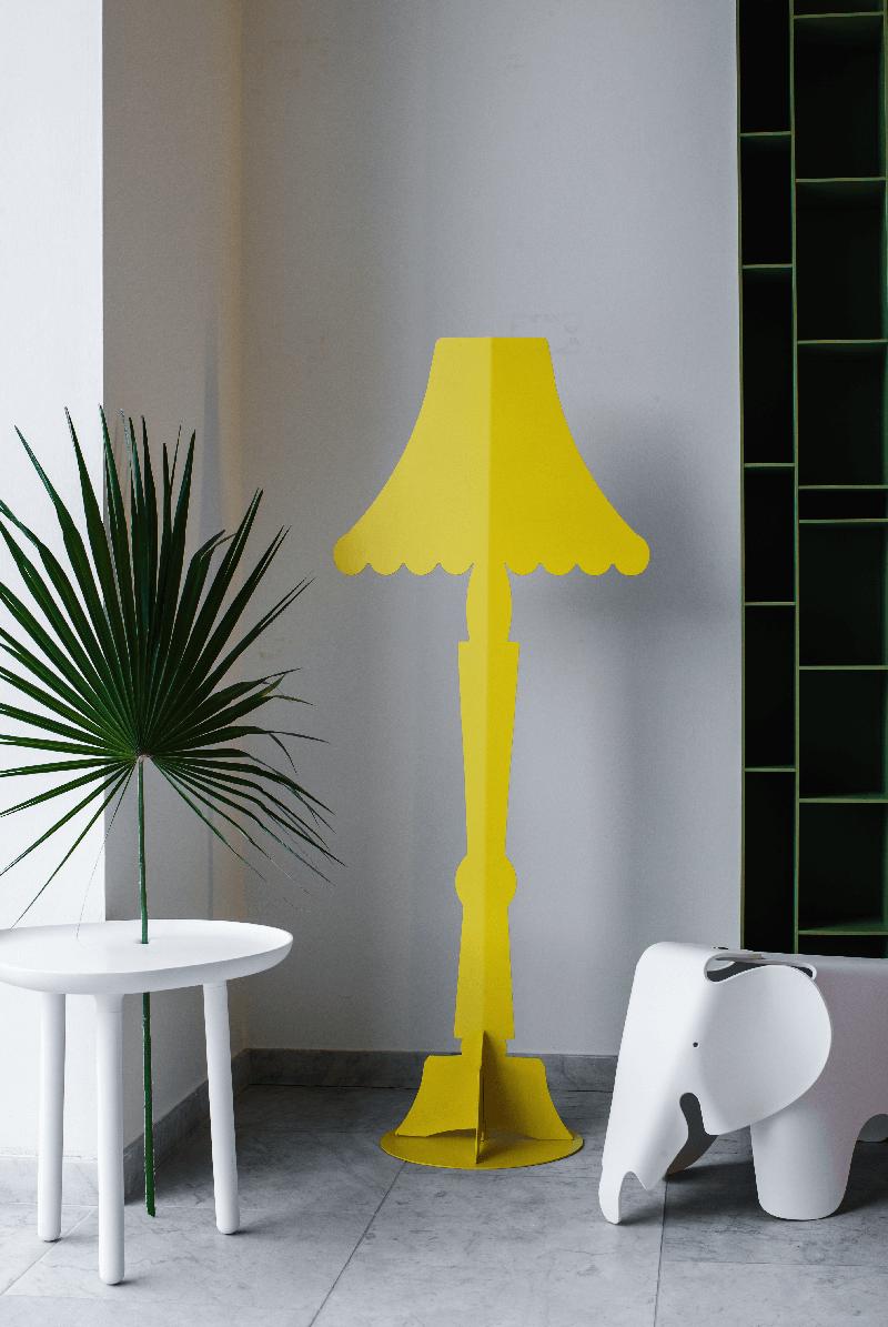 Lamps floor lamp hua classic yellow yellow floor led lamps floor lamp hua classic yellow aloadofball Gallery